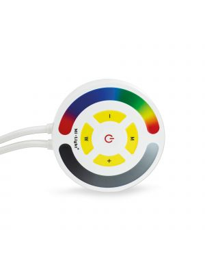 EasiLight RGB Round Touch Wifi LED Strip Controller Compatible with Alexa and RF Remote