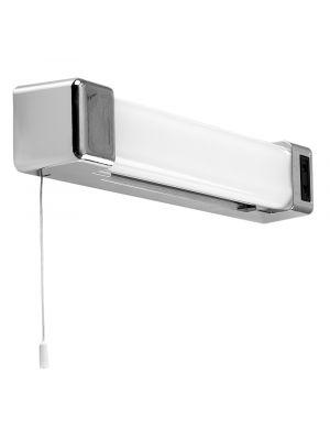 Horizon Chrome 5W LED Bathroom Shaver Light with Pull Switch