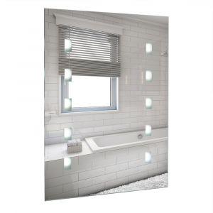 Parma IP44 Battery Operated LED Bathroom Mirror Light 6500K