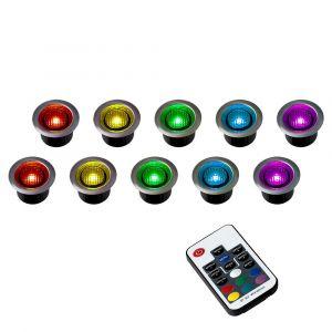 NeoDeck RGB LED Decking Light Kit, Pack of 10