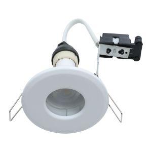 EcoSpot+ Hoop Plus Downlight Die Cast GU10 IP65 White