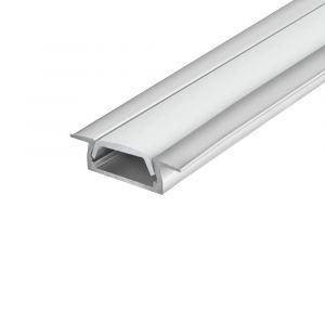 SlimPro 2m Recessed Aluminium Profile