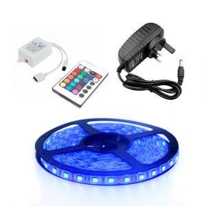 1m RGB Strip Light Kit, 60 LED, 14.4W