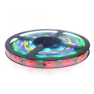Digital RGB LED Pixel Tape (60 x 5050 SMD, 14.4W, 330-1020 Lumens)