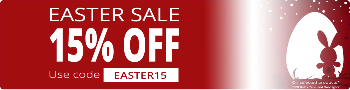 Limited Time Only - EASTER 15% off by adding EASTER15 to your cart